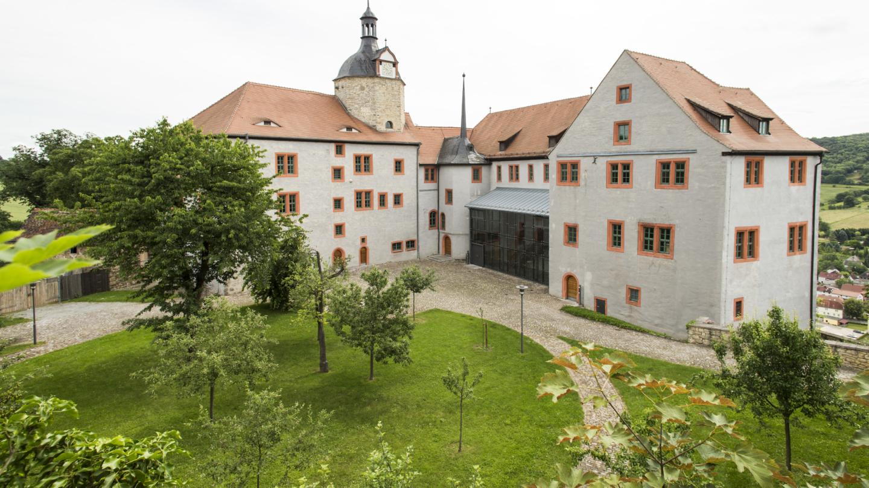 Außenansicht des Alten Schloss Dornburg © Altes Schloss Dornburg, Foto: Guido Werner