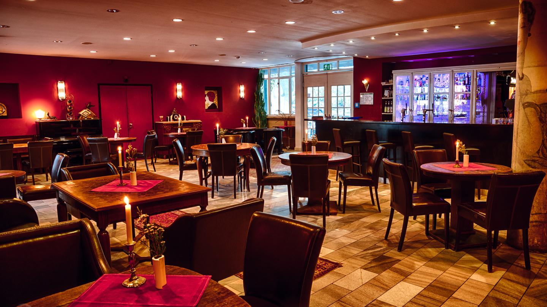 gemütliches Ambiente in der Bauersfeld Lounge
