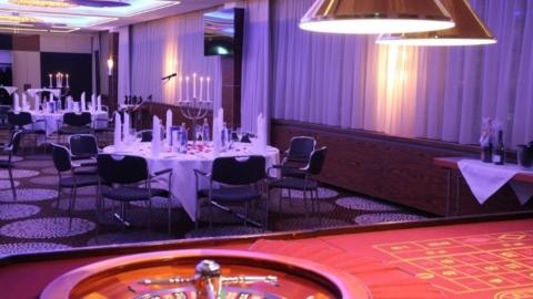 Casino-Event im Saal Friedrich-Schiller des Steigenberger Esplanade Hotel
